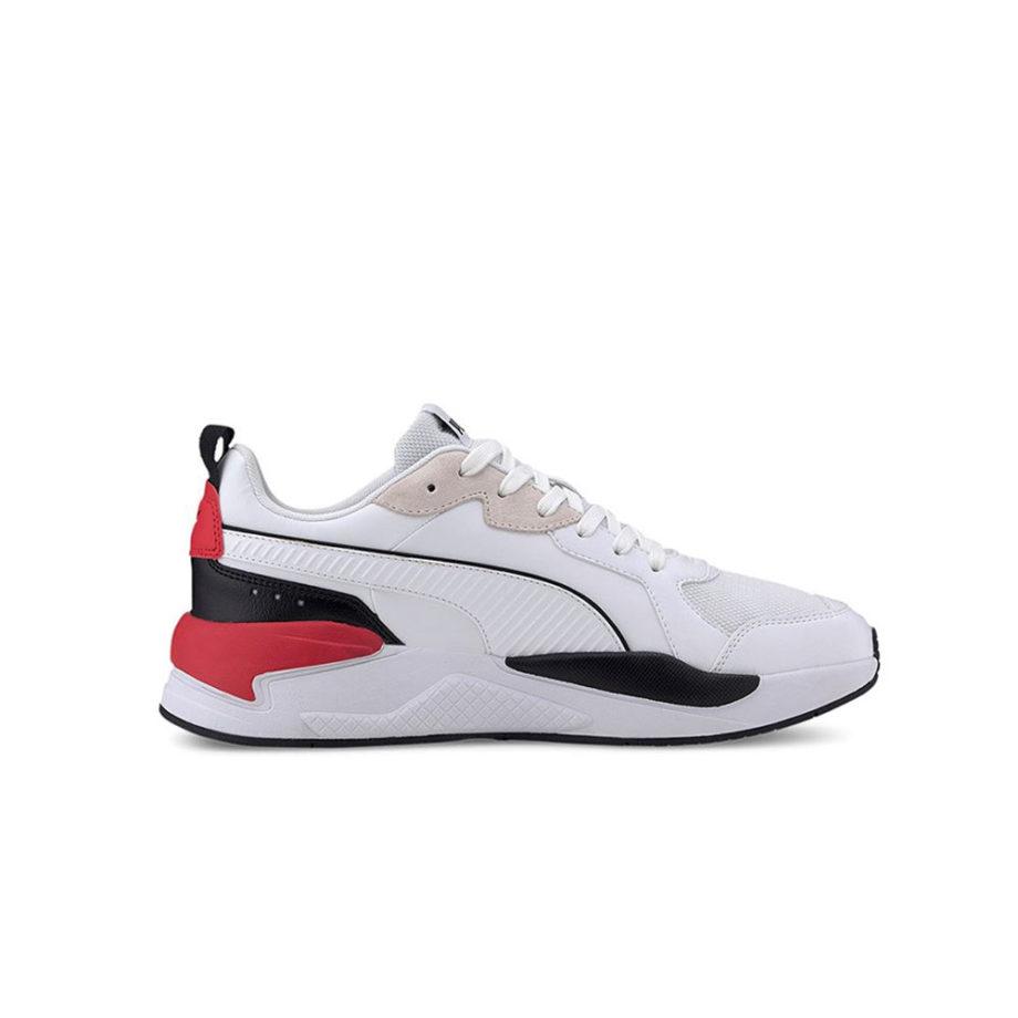 Puma X Ray Game White Black Red Gray Violet 372849 01