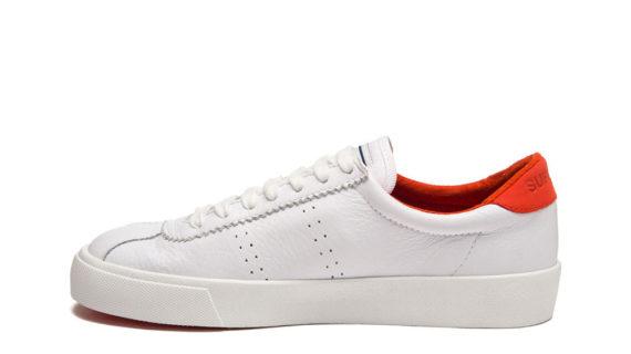 Superga White Red Clubs Comfleau 2843
