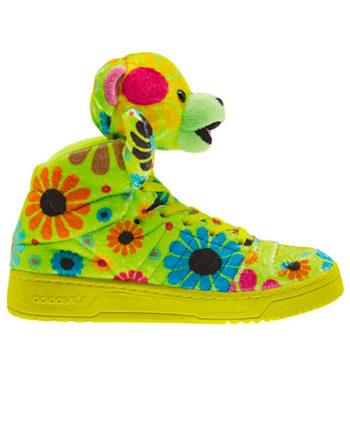 "Adidas x Jeremy Scott Js Bear ""Flower Power"" G61076"