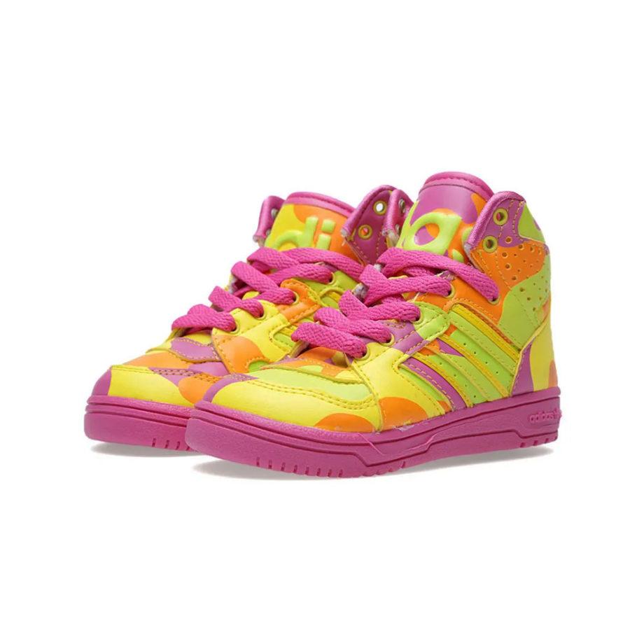Adidas x Jeremy Scott Js Instinct Hi Neoncamo G95754