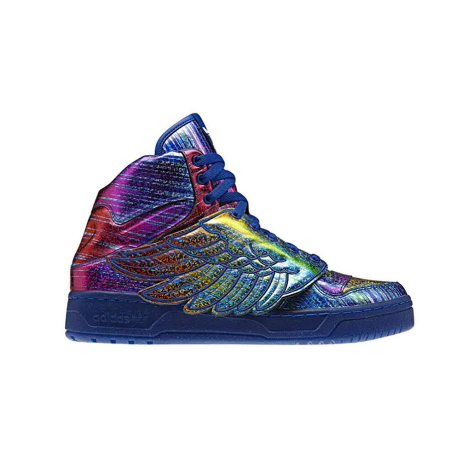 "Adidas x Jeremy Scott Js Wings ""Rainbow Foil"" Q23650"