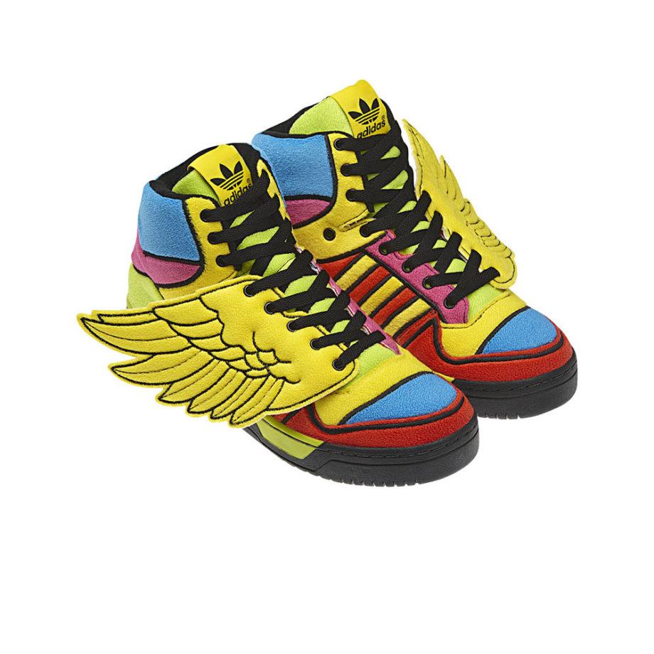 "Adidas x Jeremy Scott Js Wings ""Rainbow"" G61380"