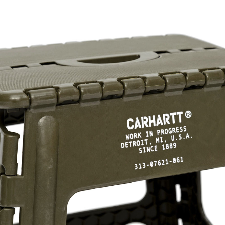 Carhartt Wip Foldable Stool Cypress Green Sgabello da campeggio o da pesca