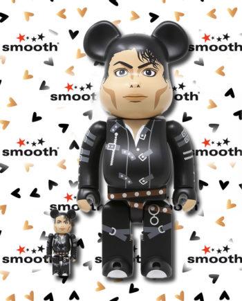 Medicom Toy Michael Jackson Bad 100% 400% Bearbrick Set Limited Edition