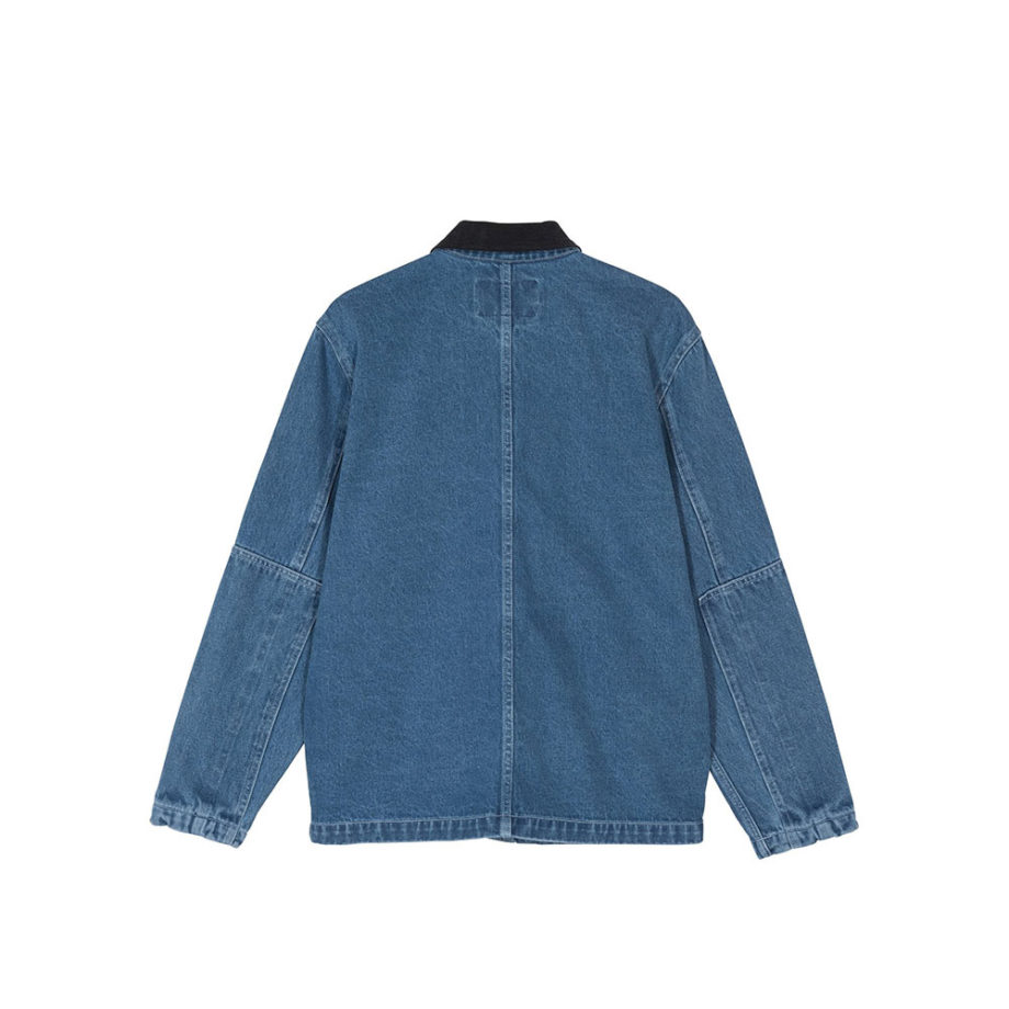 Stussy Denim Chore Coat / Cappotto Blue 115498