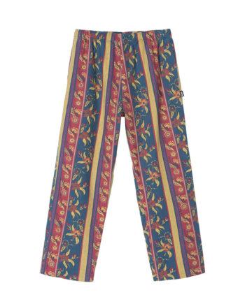 Stussy Fleur Stripe Beach Pant / Pantaloni Navy 116429
