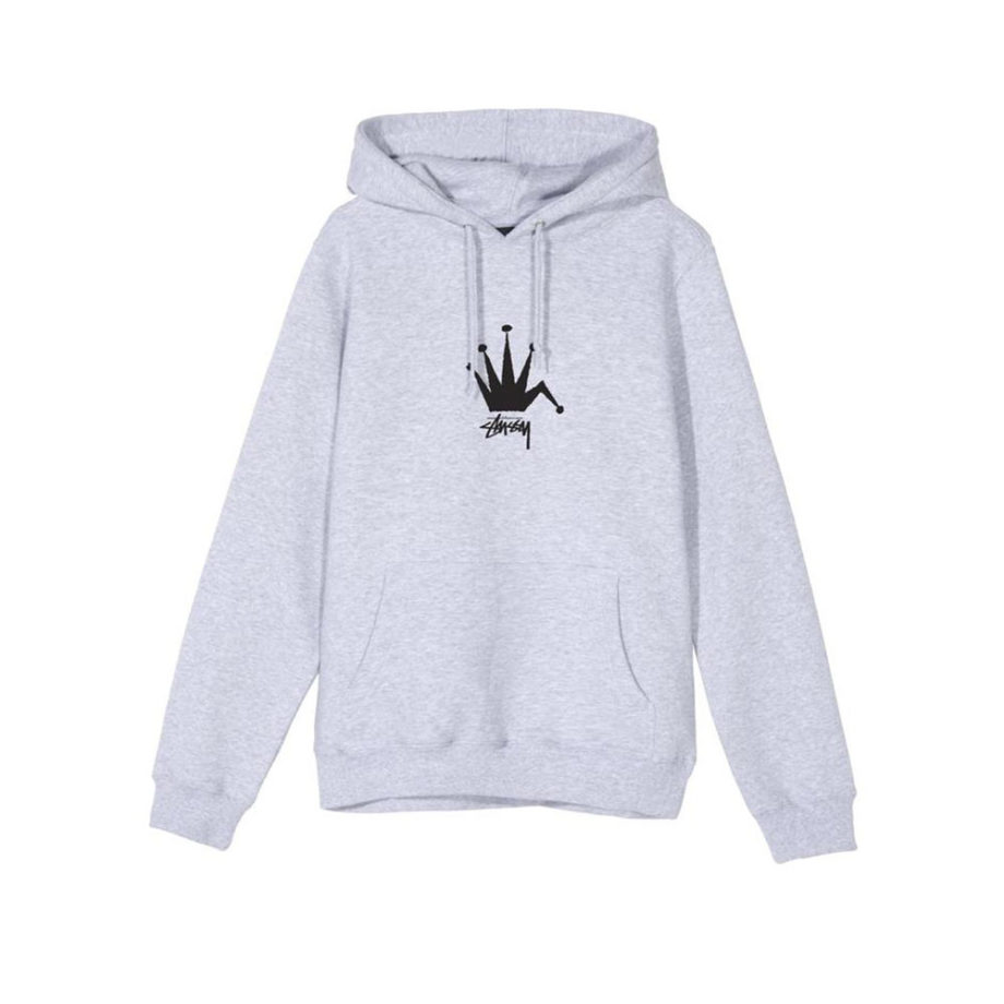 Stussy Old Crown Hood / Felpa Ash Heather 1924510