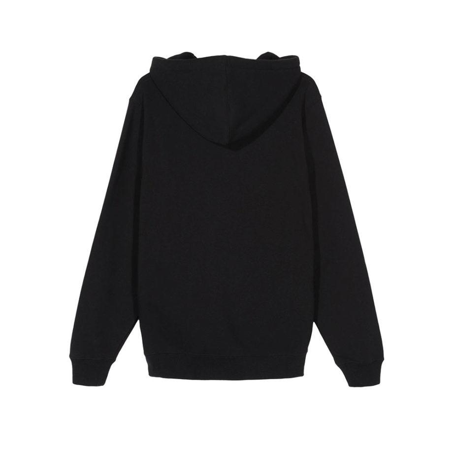 Stussy Old Crown Hood / Felpa Black 1924510