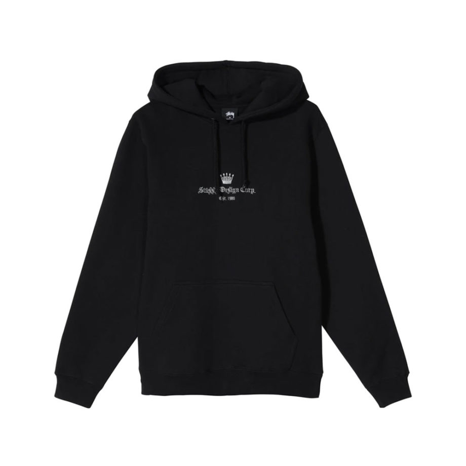 Stussy Old English Hoddie Black 118368