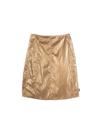 Stussy Shiny Panel Skirt / Gonna Bronze 211175