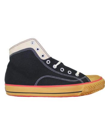 Superga Black 2946 Cotu Hight S1114QW