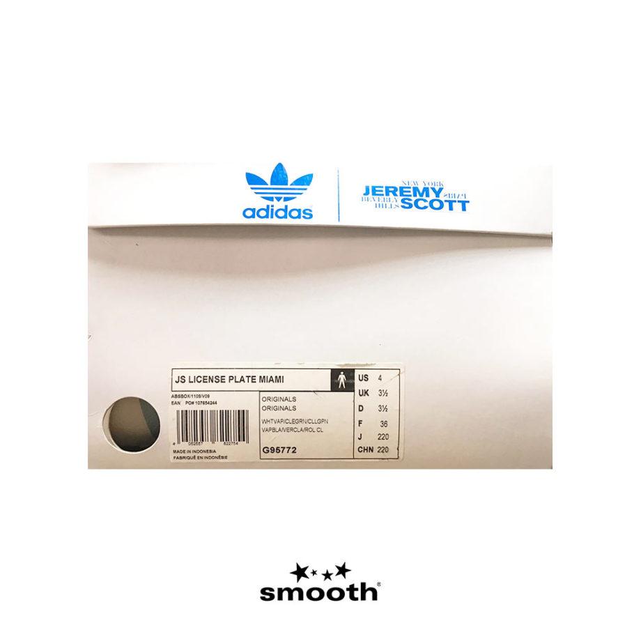 Adidas x Jeremy Scott Js License Plate Miami G95772