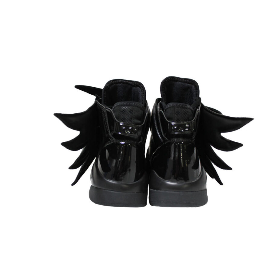 Adidas x Jeremy Scott Js Wings 3.0 Black Dark Knight Batman Sneakers D66468