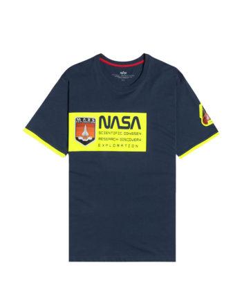 Alpha Industries Mars Neon T New Blue Navy 126533/435