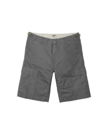 Carhartt Wip Bermuda Aviation Short Air Force Grey Rinsed