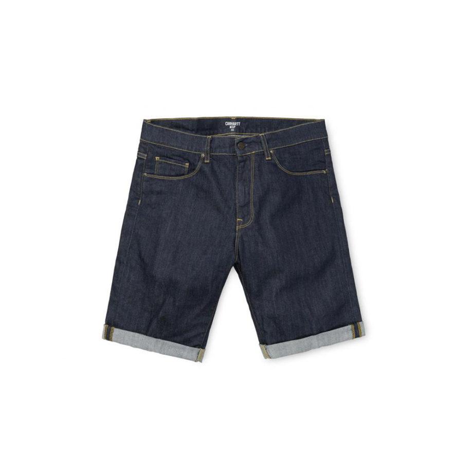 Carhartt Wip Bermuda Jeans Swell Short Blue One Wash