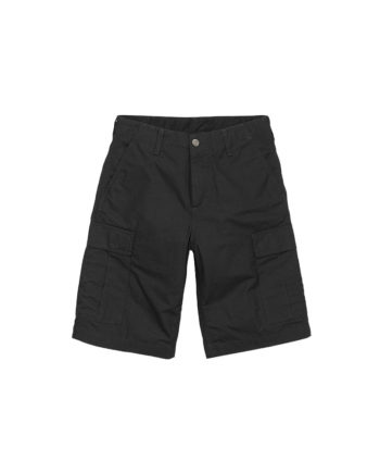 Carhartt Wip Bermuda Regular Cargo Short Black Rinsed