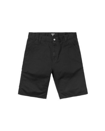 Carhartt Wip Bermuda Ruck Single Knee Short Black Stone Washed
