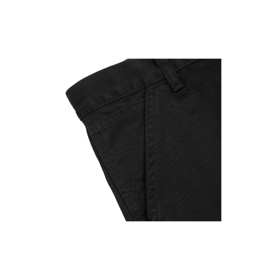 Carhartt Wip Bermuda Ruck Single Knee Short Black Stone Washed
