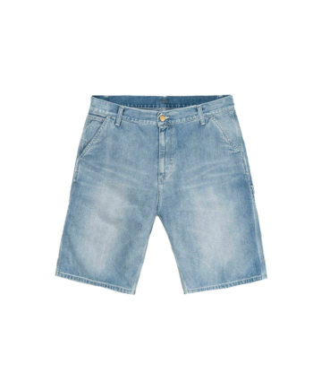 Carhartt Wip Bermuda Ruck Single Knee Short Blue Light True Stone