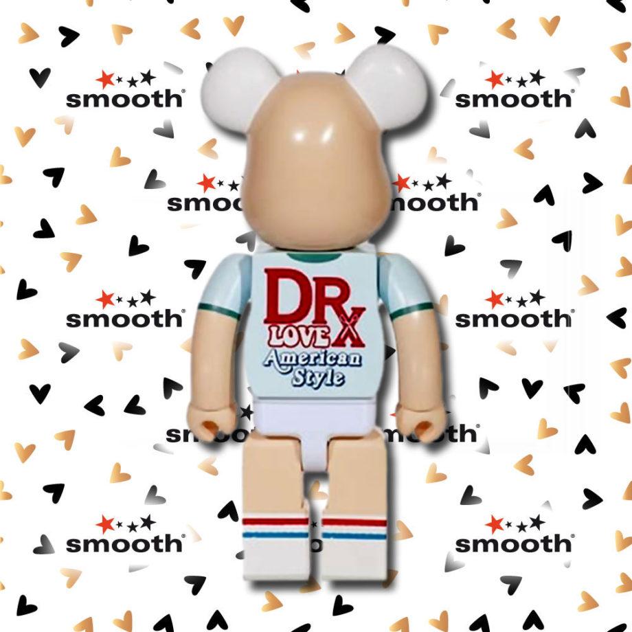 Medicom Toy DrX Love American Style Spirit of 76 Romanelli Bearbrick 400% 2011 Limited Edition