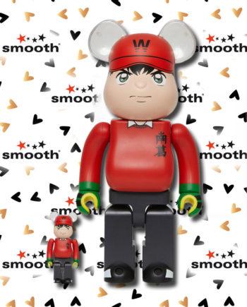Medicom Toy Wakabayashi Genzo Benji 100% 400% Bearbrick Set limited edition