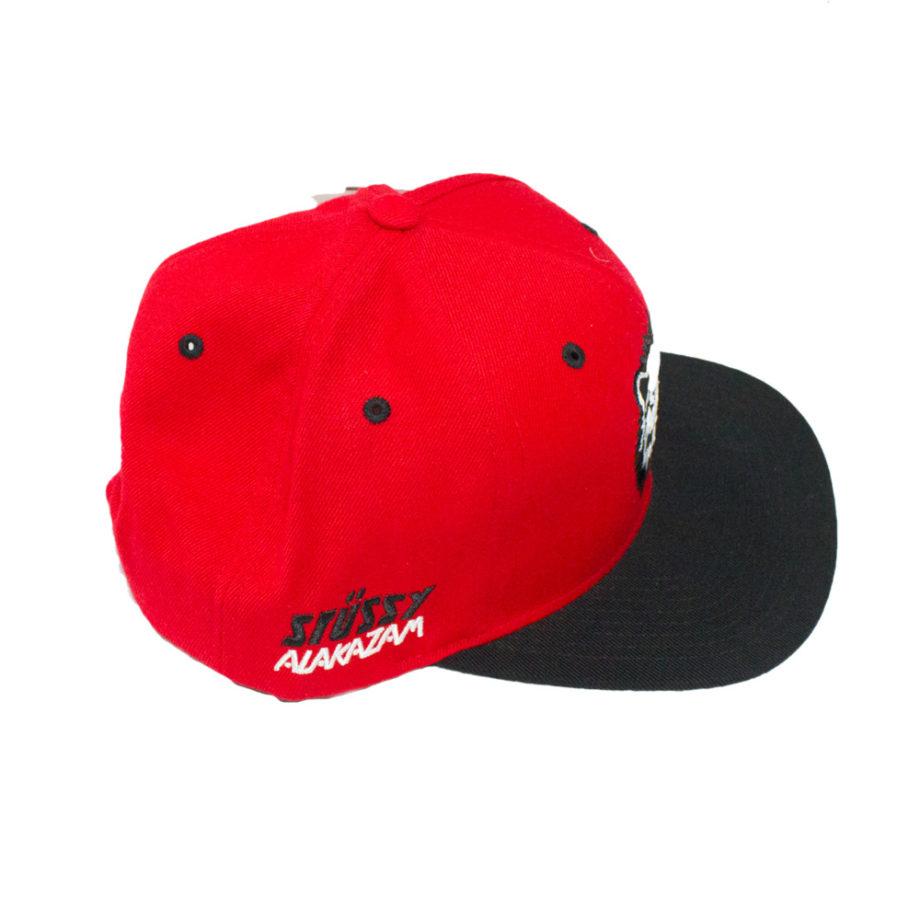 Stussy Alakazam King Starter Cap Red - Cappello Rosso