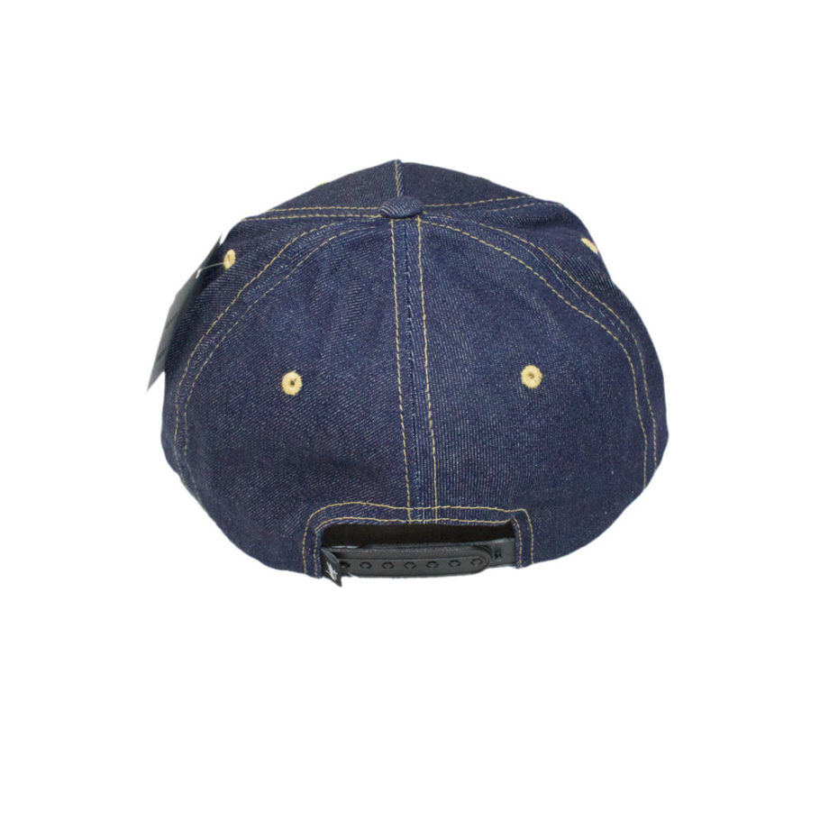 Stussy Stock Lock Denim Cap Blue - Cappello Blu