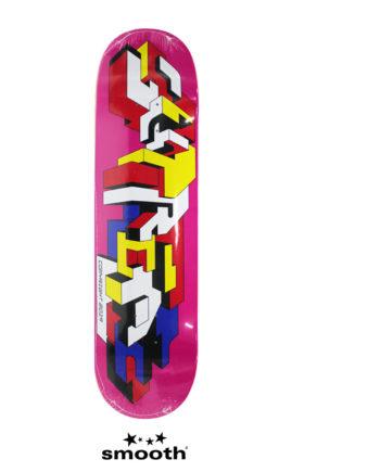 """Supreme Delta Logo Skateboard Deck Dark Magenta 8.375"""""""