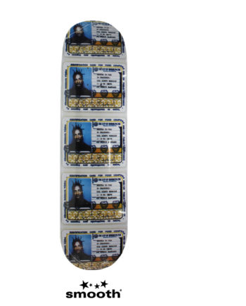 Supreme Ol' Dirty Bastard Skateboard Deck Multicolor 8.5""