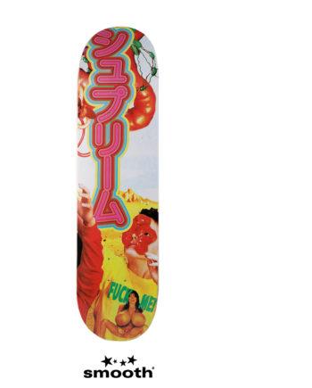 "Supreme Sekintani La Norihiro Skateboard Deck Yellow 8.5"""