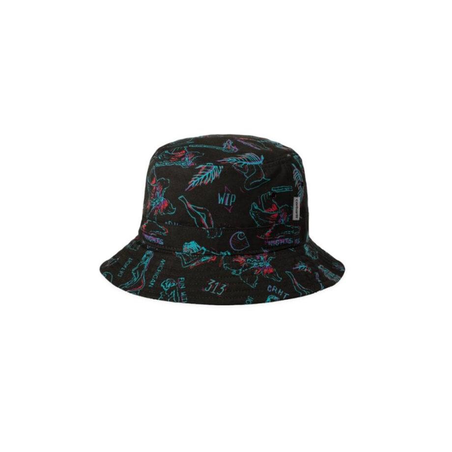 Carhartt Wip Paradise Bucket Hat I02761109P00 Paradise Print - Blue