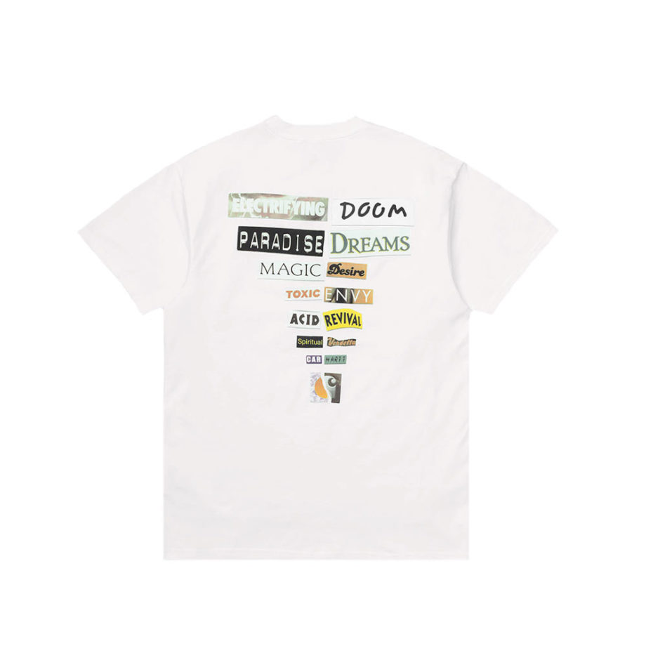 Carhartt Wip S/S Backpages T-Shirt White