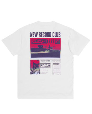 Carhartt Wip S/S Record Club T-Shirt White