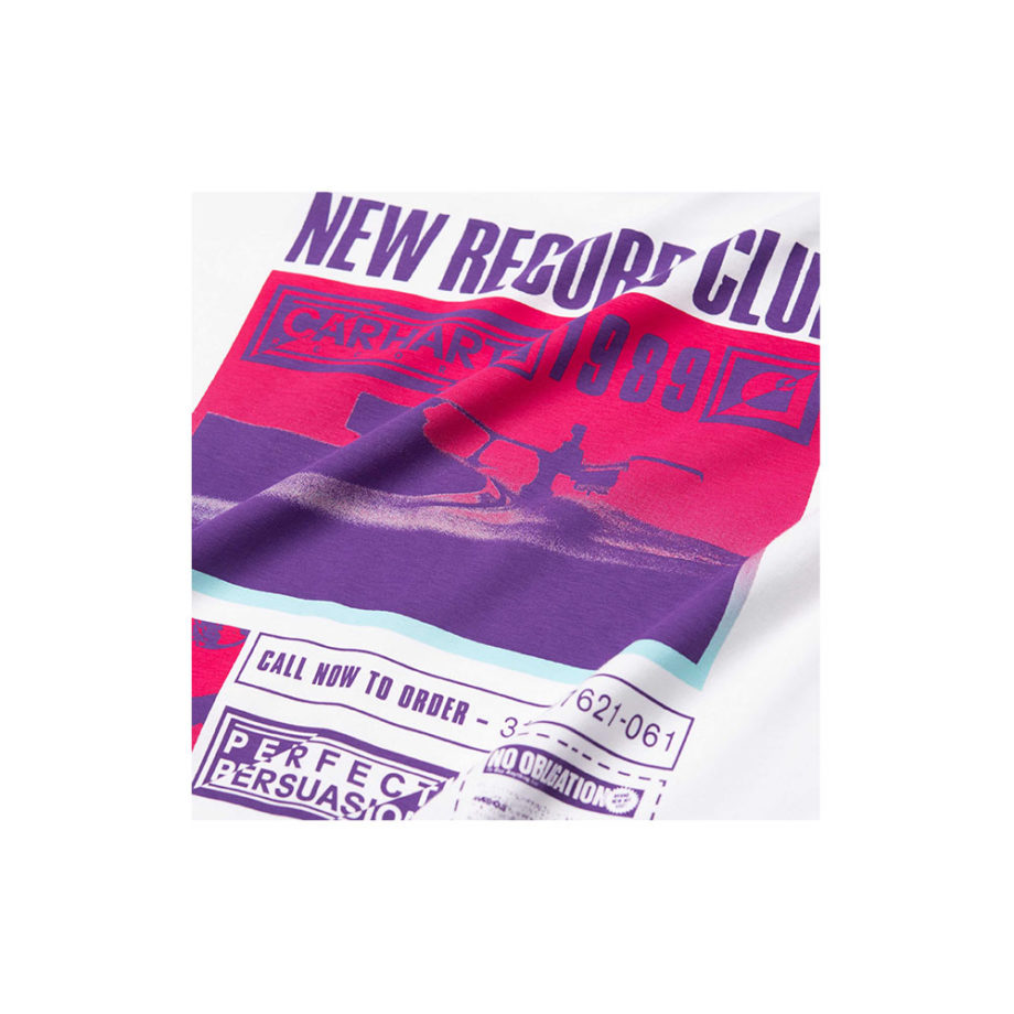 Carhartt Wip S/S Record Club T-Shirt White