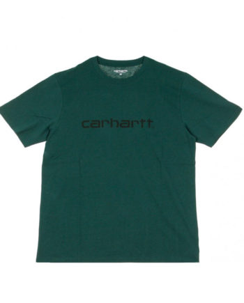 Carhartt Wip S/S Script T-Shirt Dark fir/Black