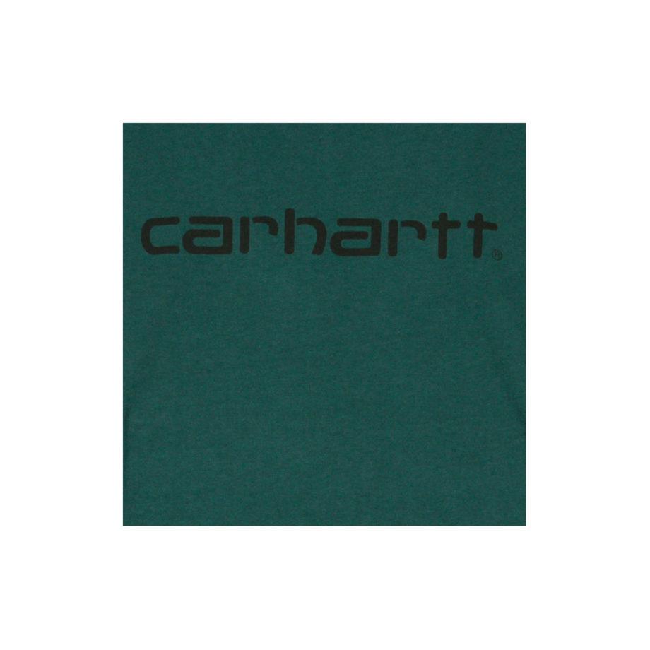 Carhartt Wip S/S Script T-Shirt Dark fir/Black