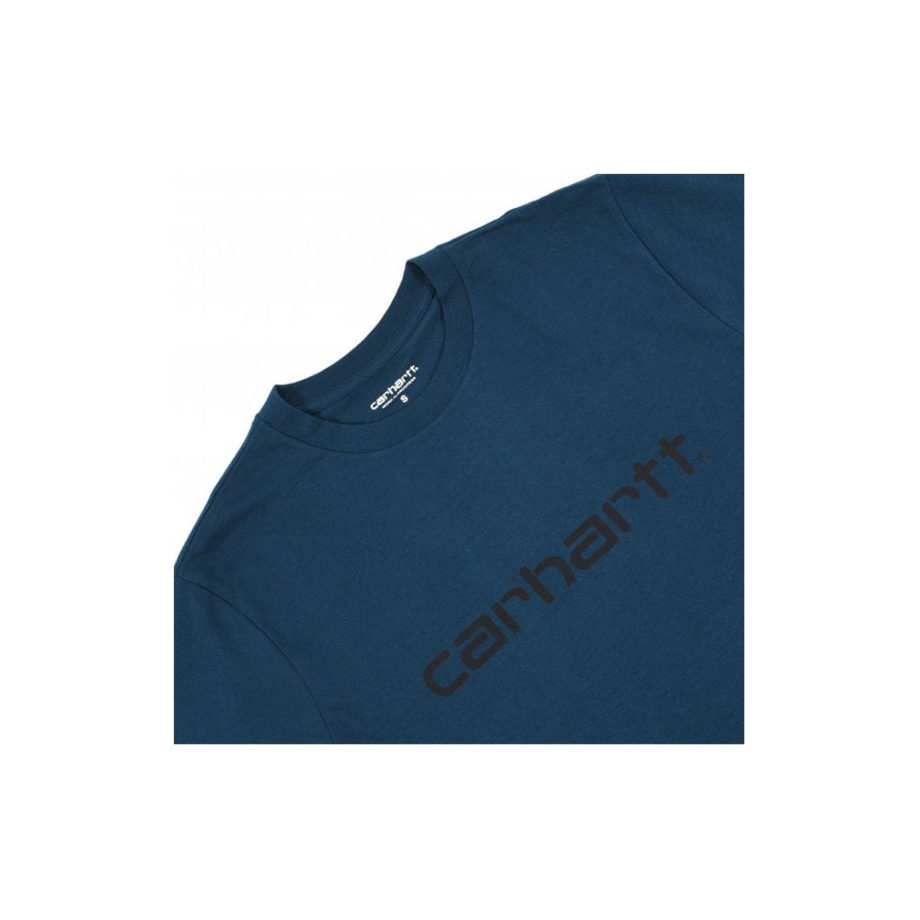 Carhartt Wip S/S Script T-Shirt Duck Blue/Black