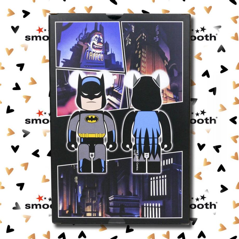 Medicom Toy Batman The Animated Series Bearbrick Set 100% 400%
