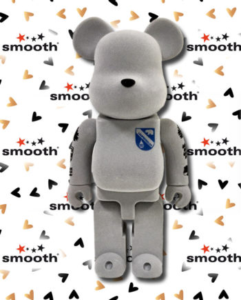 Medicom Toy Loopwheeler Bearbrick 400% 2009 Flocked Limited Edition