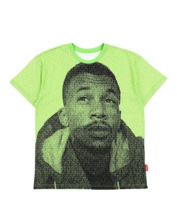 Napapijri By Martine Rose S-Bossiney T-Shirt Green Aop NP0A4ED9FZ11