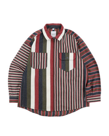 Napapijri By Martine Rose G-Mawgan Shirt Red Stripe NP0A4EDP45S1
