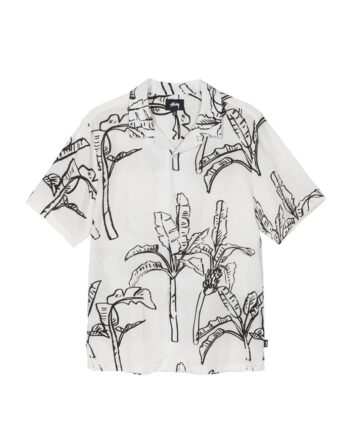 Stussy Banana Tree Shirt / Camicia Off White 1110095