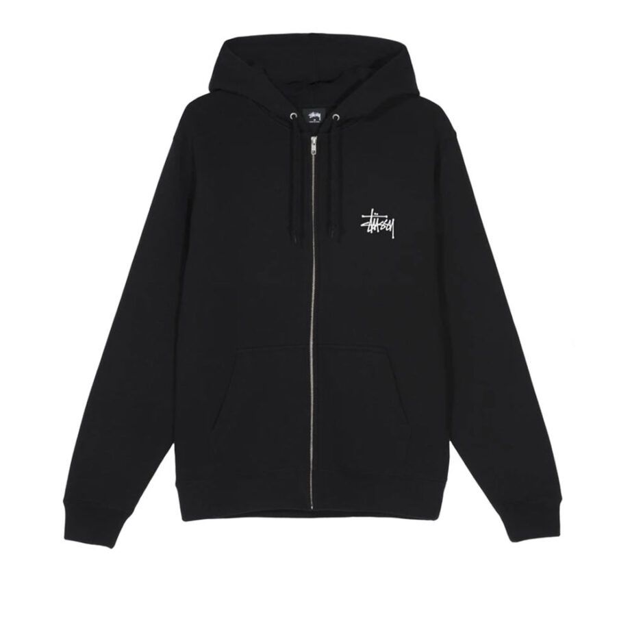 Stussy Basic Zip Hood Black 1974500