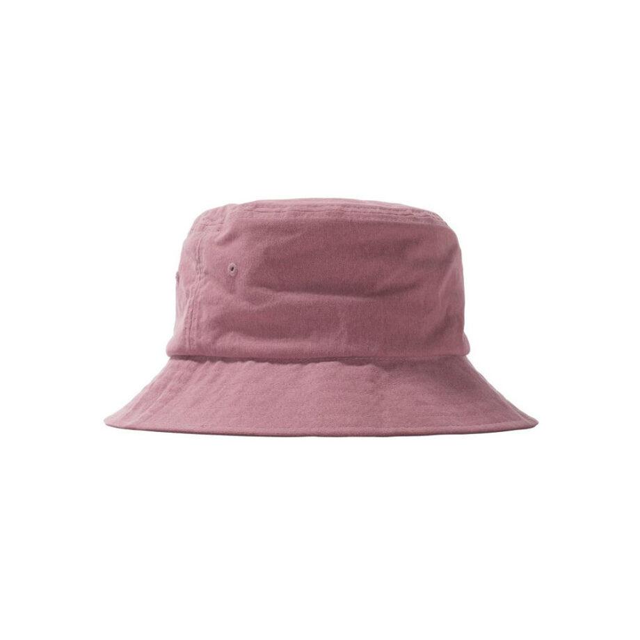 Stussy Big Logo Canvas Bucket Hat Rose 132967