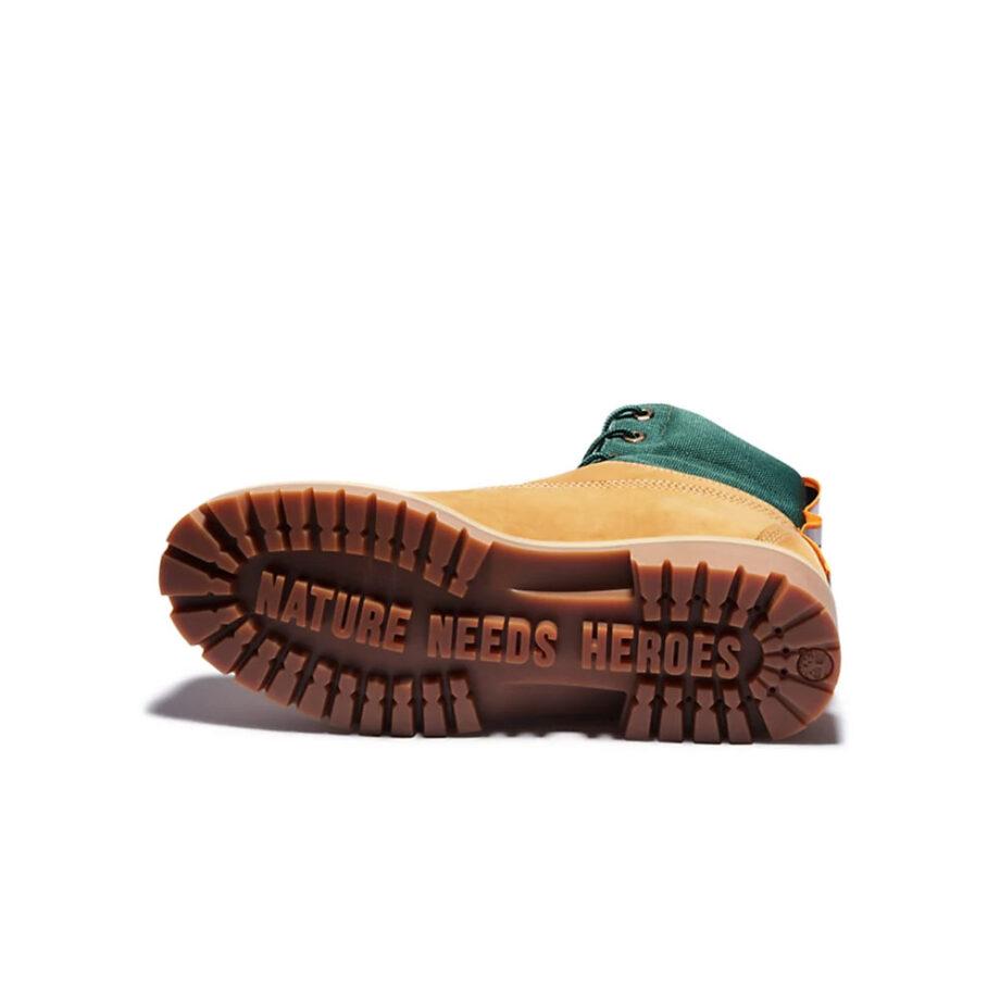 Timberland Premium Waterproof Boot Wheat Nubuck TB0A2D6U231