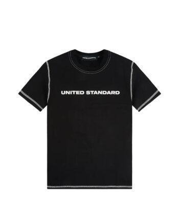 United Standard Logo T-Shirt Blk Black 20SUSTS01