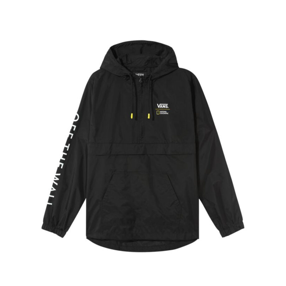 Vans x National Geographic Giacca A Vento / Windbreaker Black VN0A4MULBLK