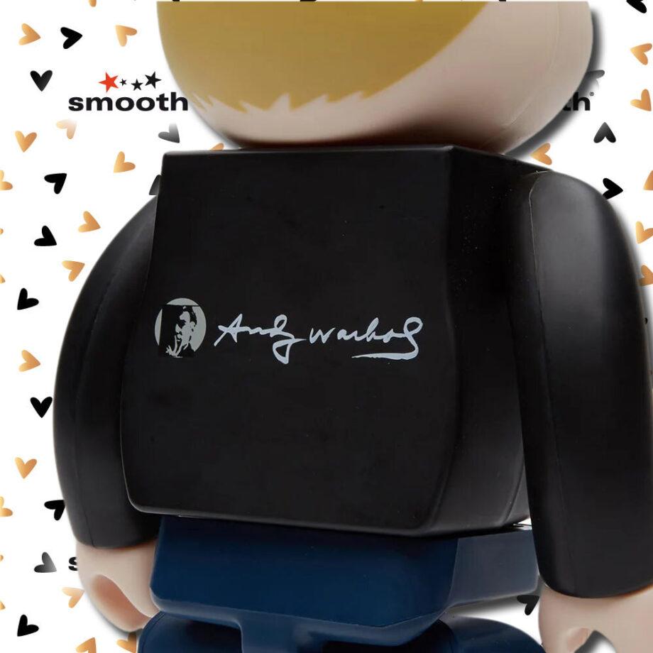 Medicom Toy Andy Warhol 60s Style Version Bearbrick 400% 2015