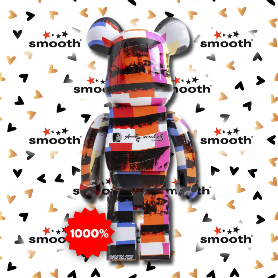 Medicom Toy Andy Warhol Last Supper Version Bearbrick 1000%